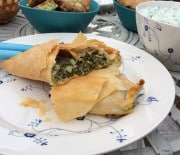 Spinach pie Greek style