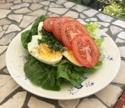 Æg med tomat