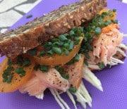 Laksesandwich
