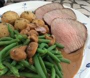 Roastbeef med timiankartofler