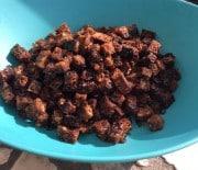 Rugbrøds croutoner