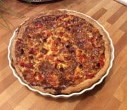 Tomattærte med oregano