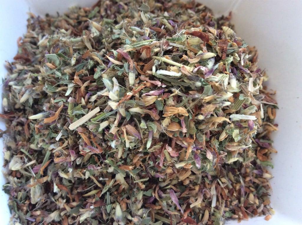 Rødkløver te
