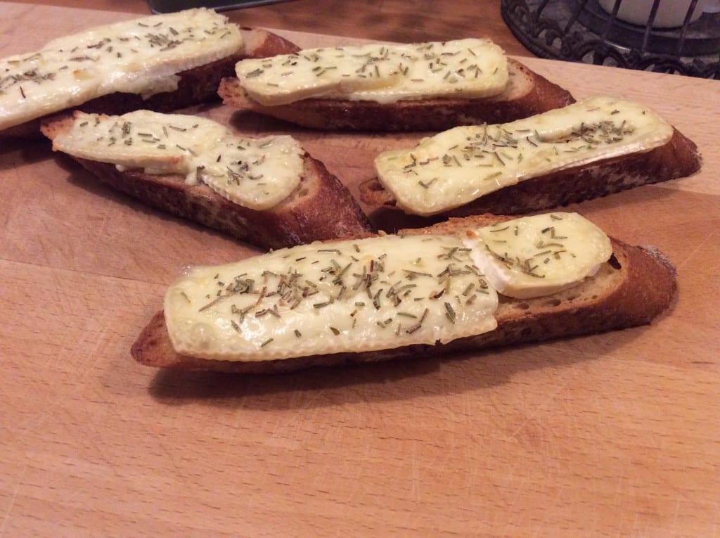 Brie med rosmarin
