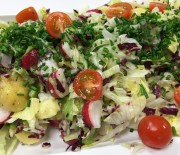 Kartoffelsalat med radise