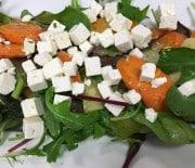 Bagte gulerødder med porre
