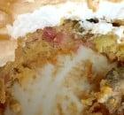 Rabarber kage med marengslåg