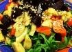 Bagte rodfrugter med kerner