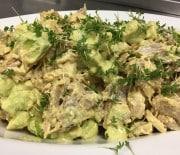 Hønsesalat med avocado