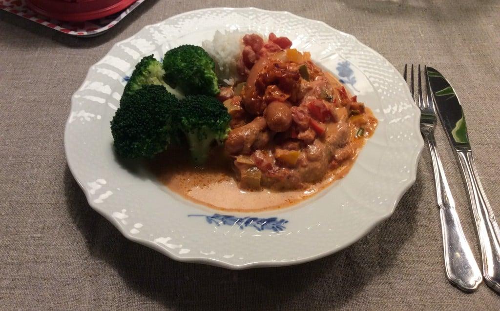Koteletter med tomat