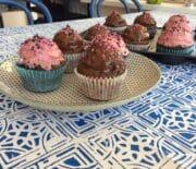 Flødebolle muffins
