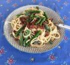 Pasta med grønne asparges