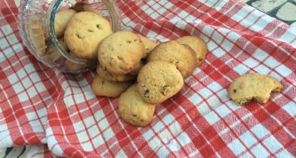Cookie med tranebær