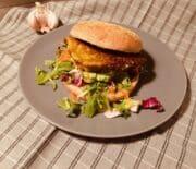 Grøn burger